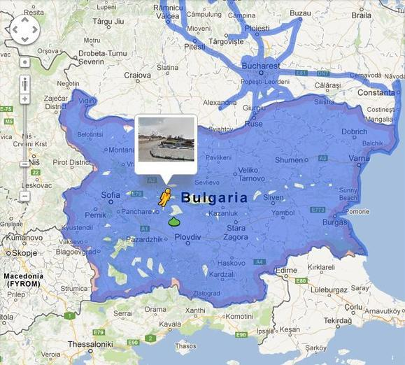 Google Street View Bulgaria